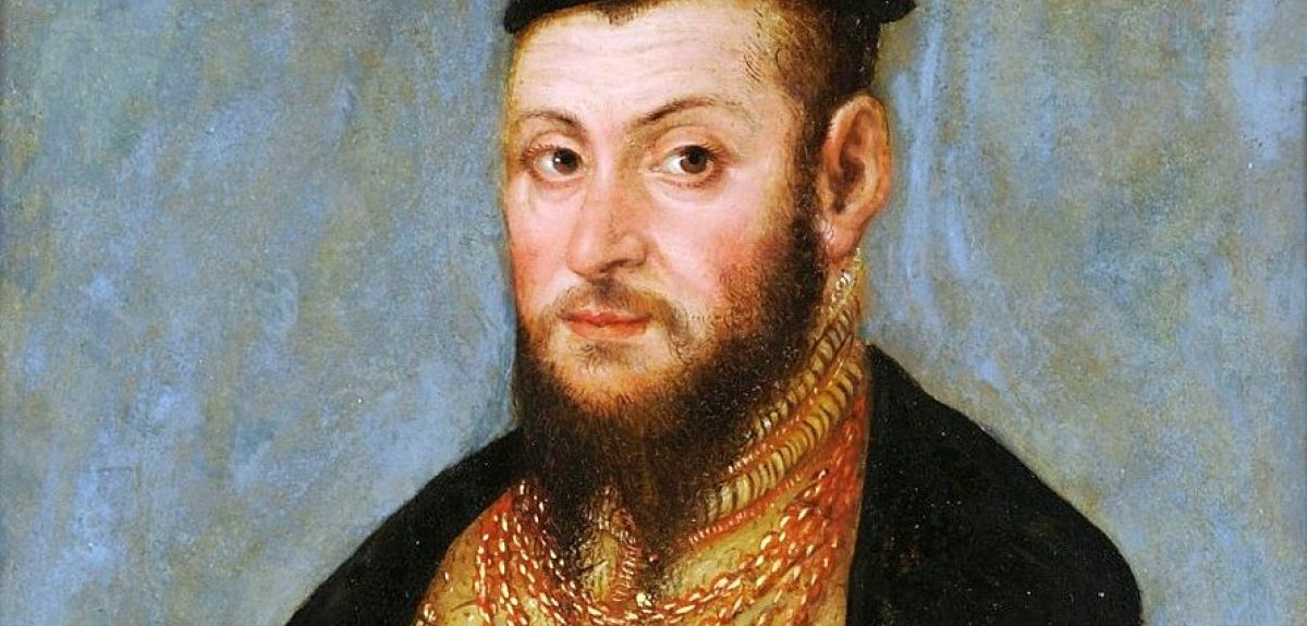 Sigismund Augustus, the last king of the Jagiellonians. Painting by Lucas Cranach the Younger