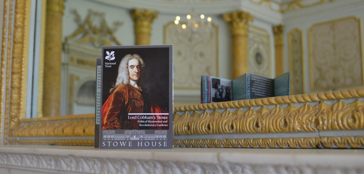 Oxford students have produced a new leaflet for Stowe House and Gardens
