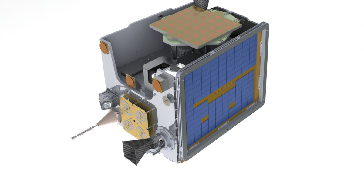 The Oxford-built CMS instrument now in orbit