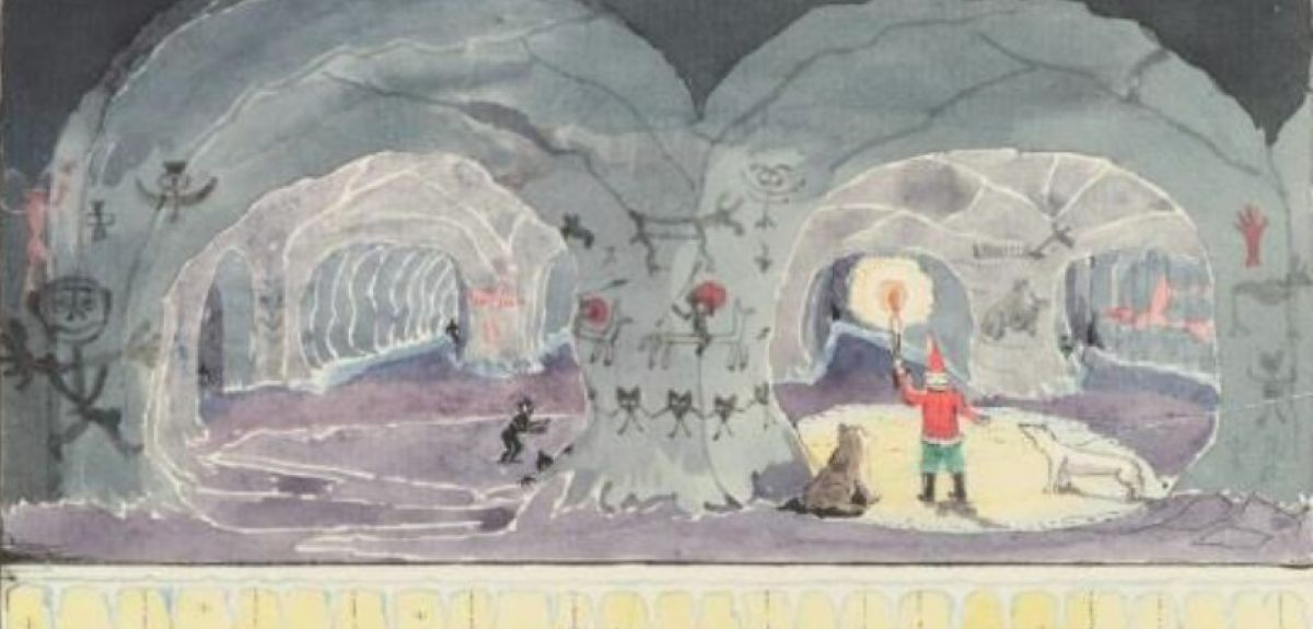 Tolkien drawing