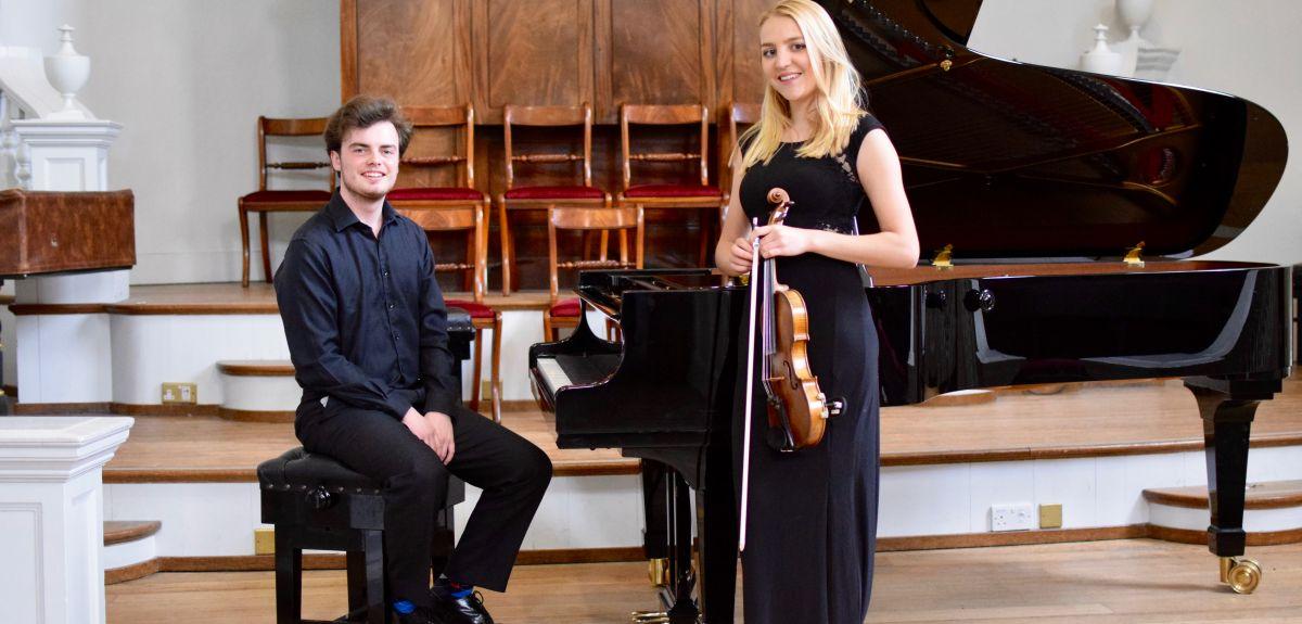 Tom Fetherstonhaugh and Athena Hawksley-Walker