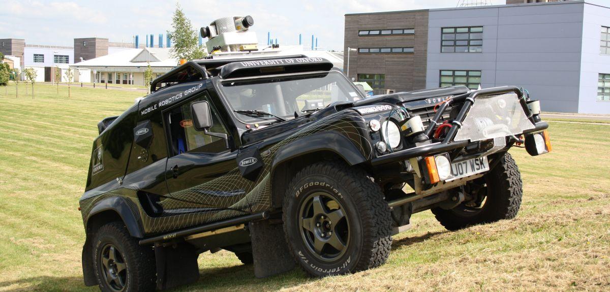 Bowler WildCat autonomous vehicle