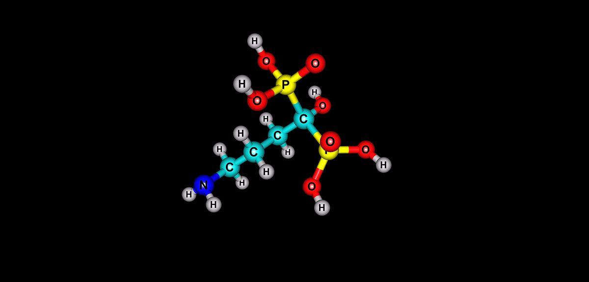 Alendronic acid molecule