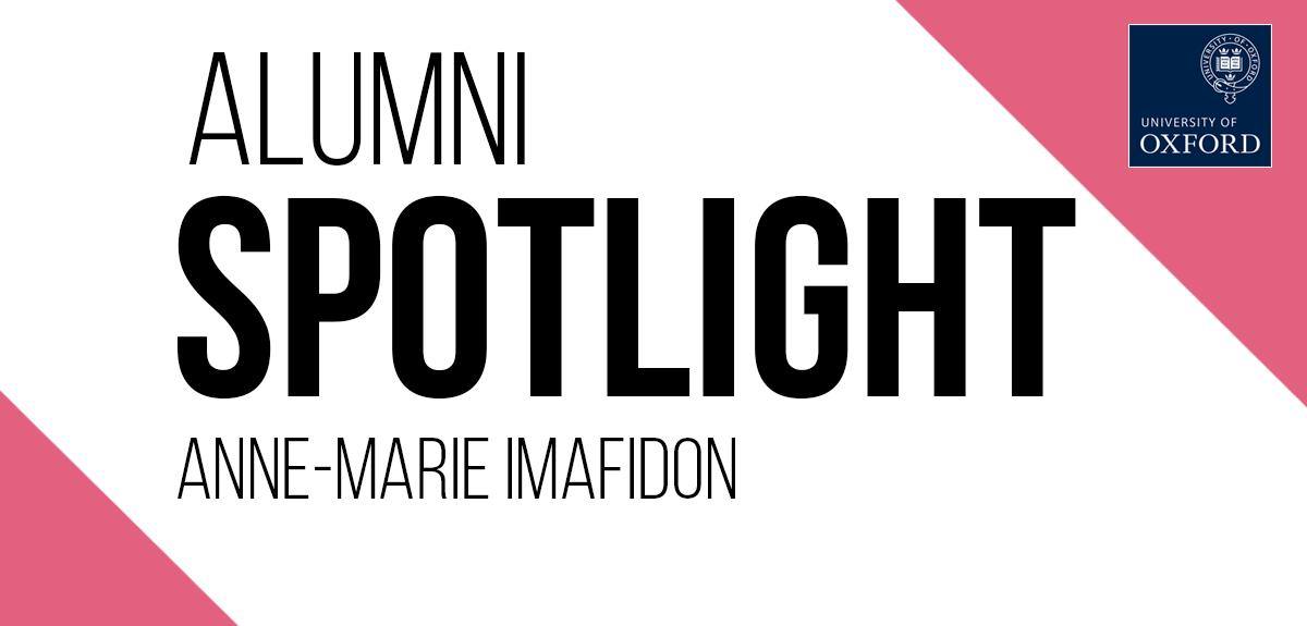 alumni spotlight: anne-marie imafidon
