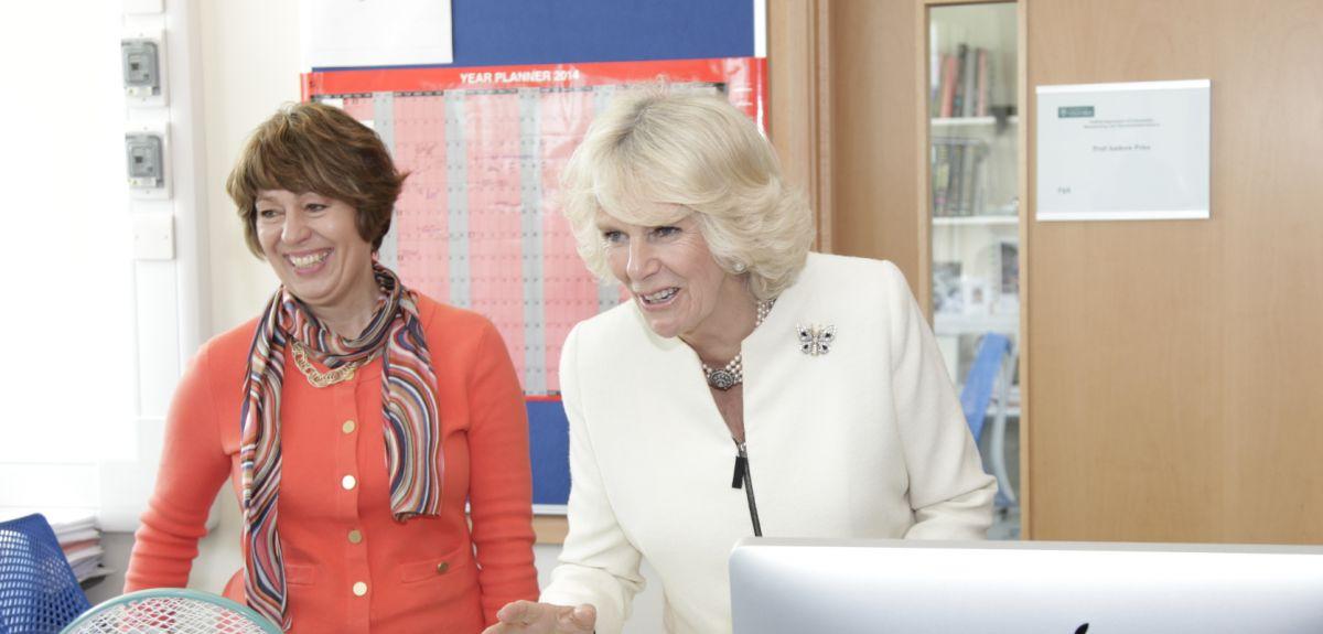 Duchess of Cornwall visits Botnar Research Centre