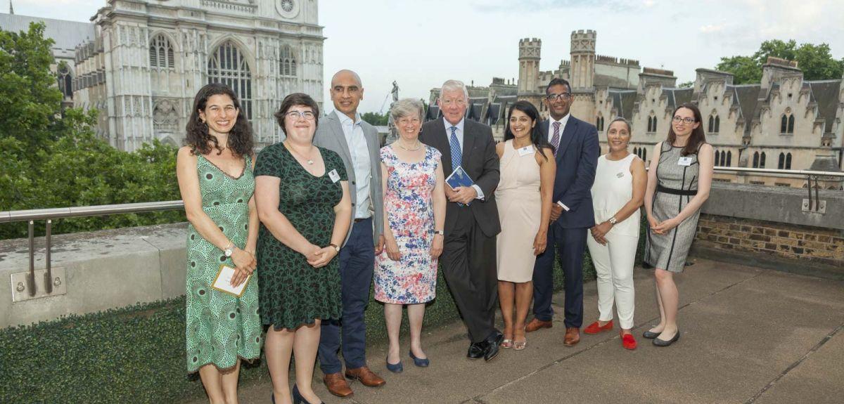 Prizewinners at the ESRC Celebrating Impact award ceremony