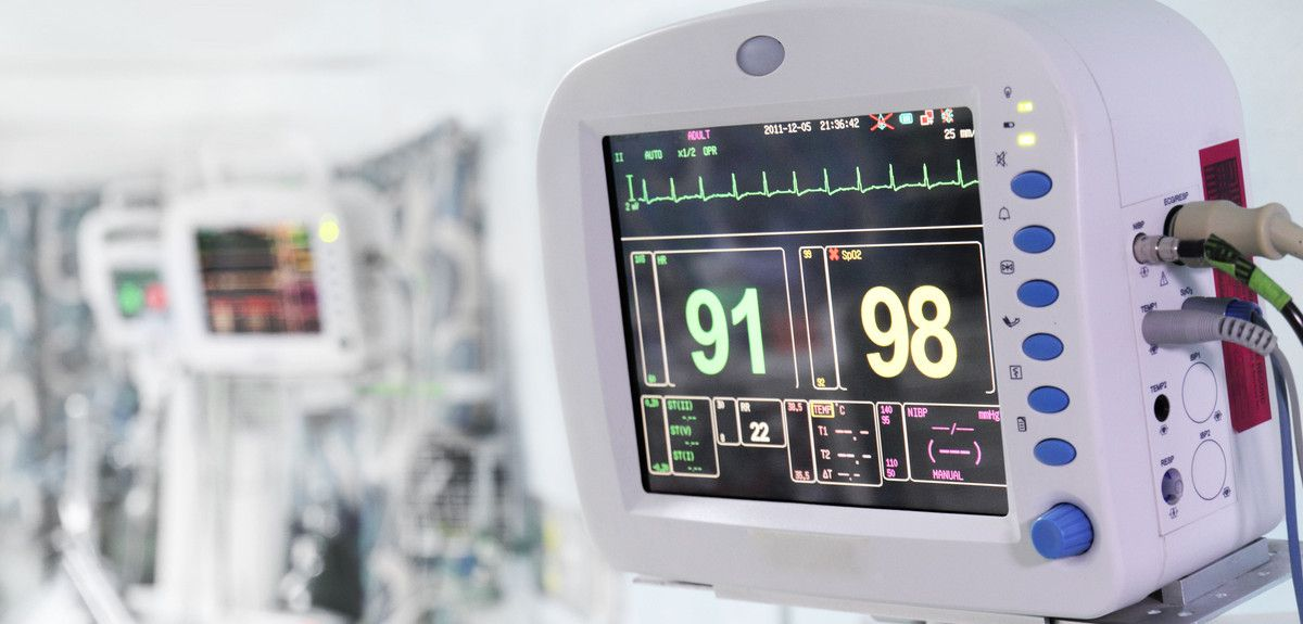 Monitoring equipment in an Intensive Care Unit
