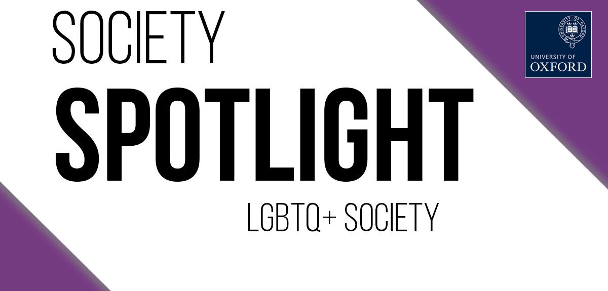LGBTQ+ Society spotlight banner
