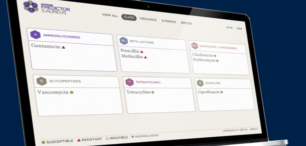 Mykrobe screenshot