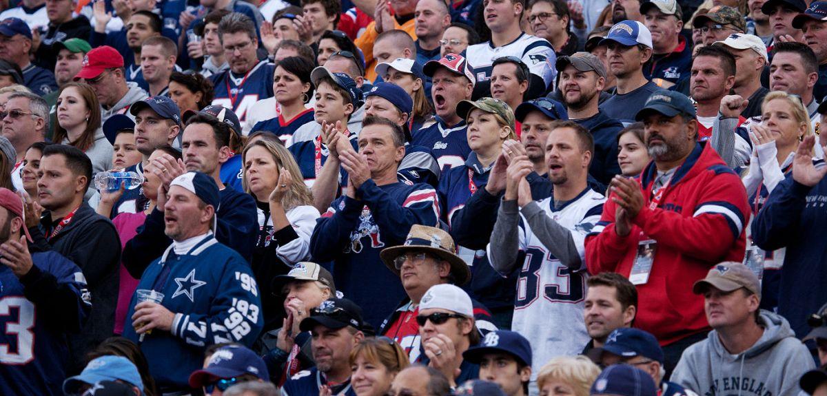 New England Patriots NFL fans
