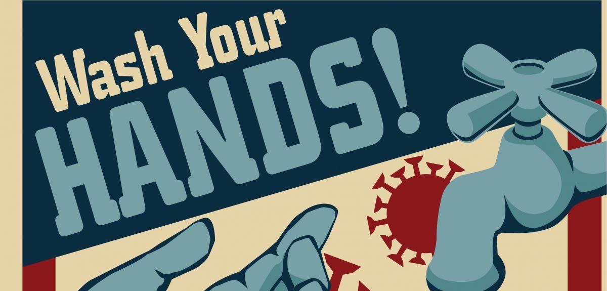 Vintage propaganda poster