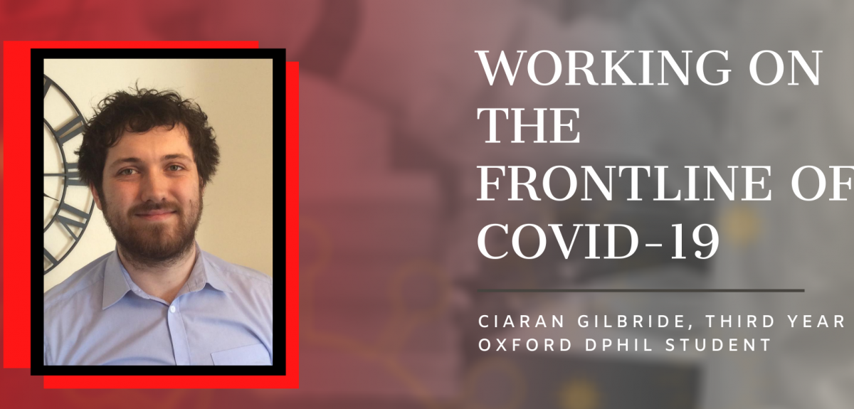 image of ciaran gilbride with title text