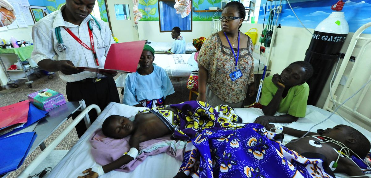 Malaria kills over 600,000 people every year and is a particular threat to young children