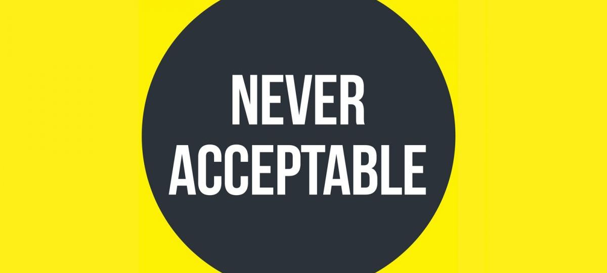never acceptable - Oxford against sexual violence
