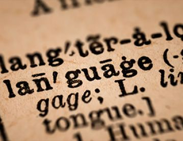 the word 'language'