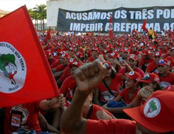 Crowd in Brazil
