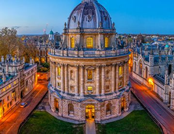 Radcliffe Camera twilight