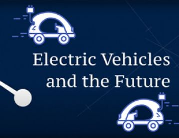 illustration of electric vehicles