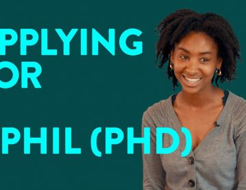 Applying for a DPhil (PhD)