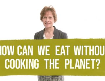 How can we eat without cooking the planet?
