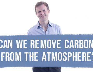 Can we remove carbon from the atmosphere?