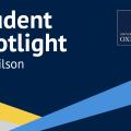 Joe Wilson student spotlight banner