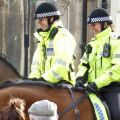 Mounted police units in Gloucestershire