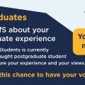 OfS Postgraduate Survey Postcard