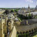 Panoramic Oxford skyline