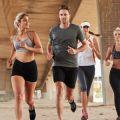 Running club in a city