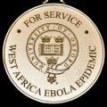Oxford University Ebola medal