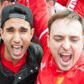 Liverpool Football Club fans.