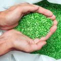 Biodegradable plastic pellets
