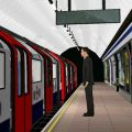 Virtual reality journey on the tube
