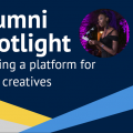 Alumni Spotlight banner for creating a platform for Black creatives. Credits: University of Oxford