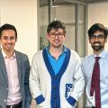 Nye Founders Chris Tan, Dr Alexander Finlayson, and Dr Imran Mahmud