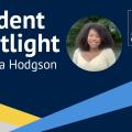 Renesha Hodgson student spotlight banner.