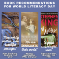 image of book recommendations