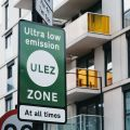 London low emission zone sign