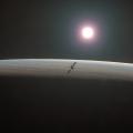Illustration of mission to Venus