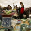 Botanic Gardens Christmas Fair marquee