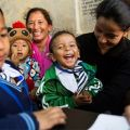 children given typhoid vaccine