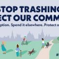Stop trashing: protect our community