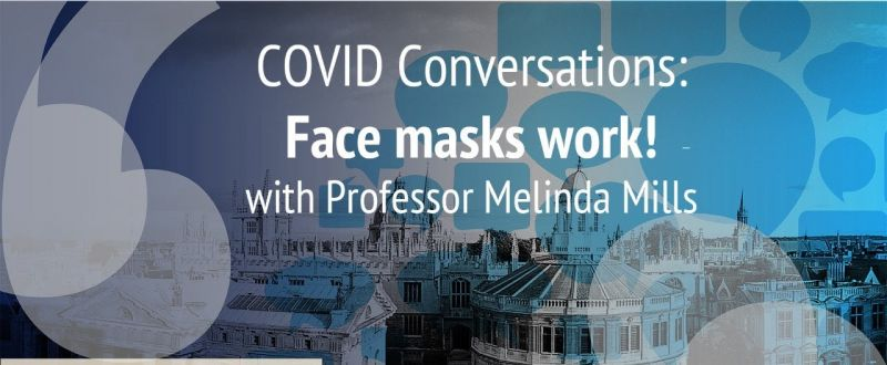COVID Conversations: Face masks work!