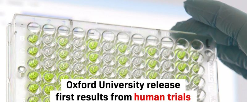 Oxford launches its first results from the COVID-19 vaccine trial
